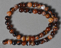 Dream agate 8mm round beads.