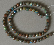 6mm round beads from rainbow calsilica.