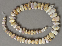 Sugilite nugget beads