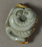Succor creek jasper eel carving
